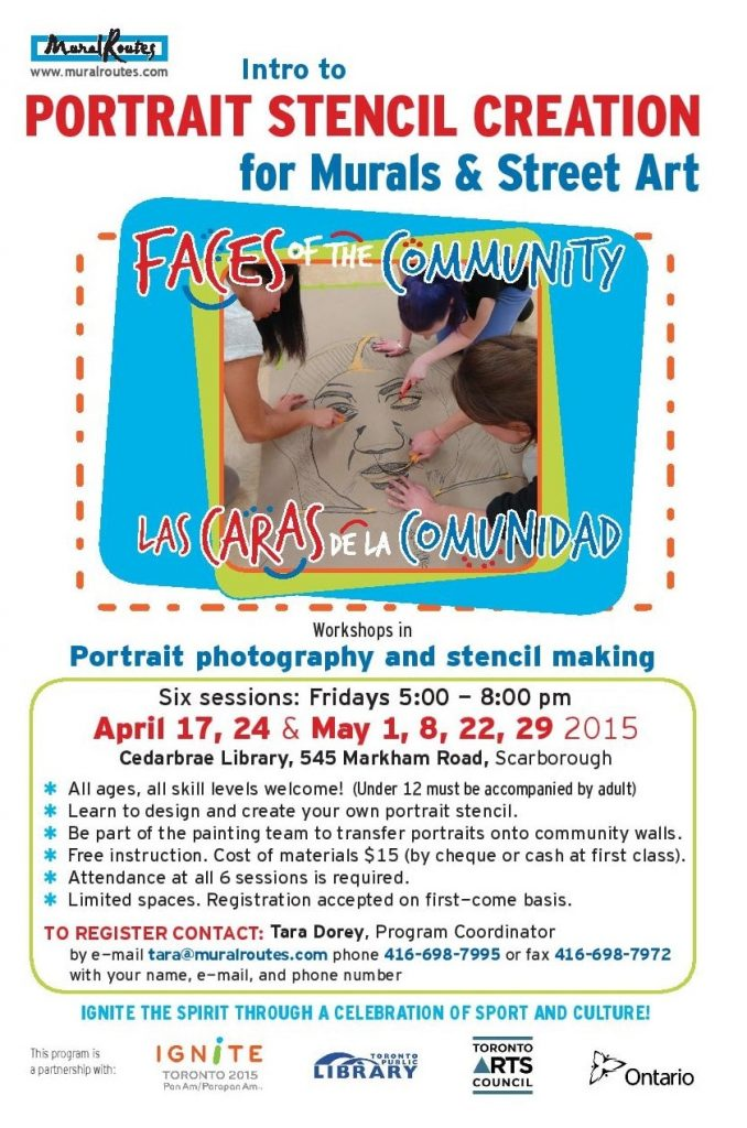 Faces of the Community promotional poster