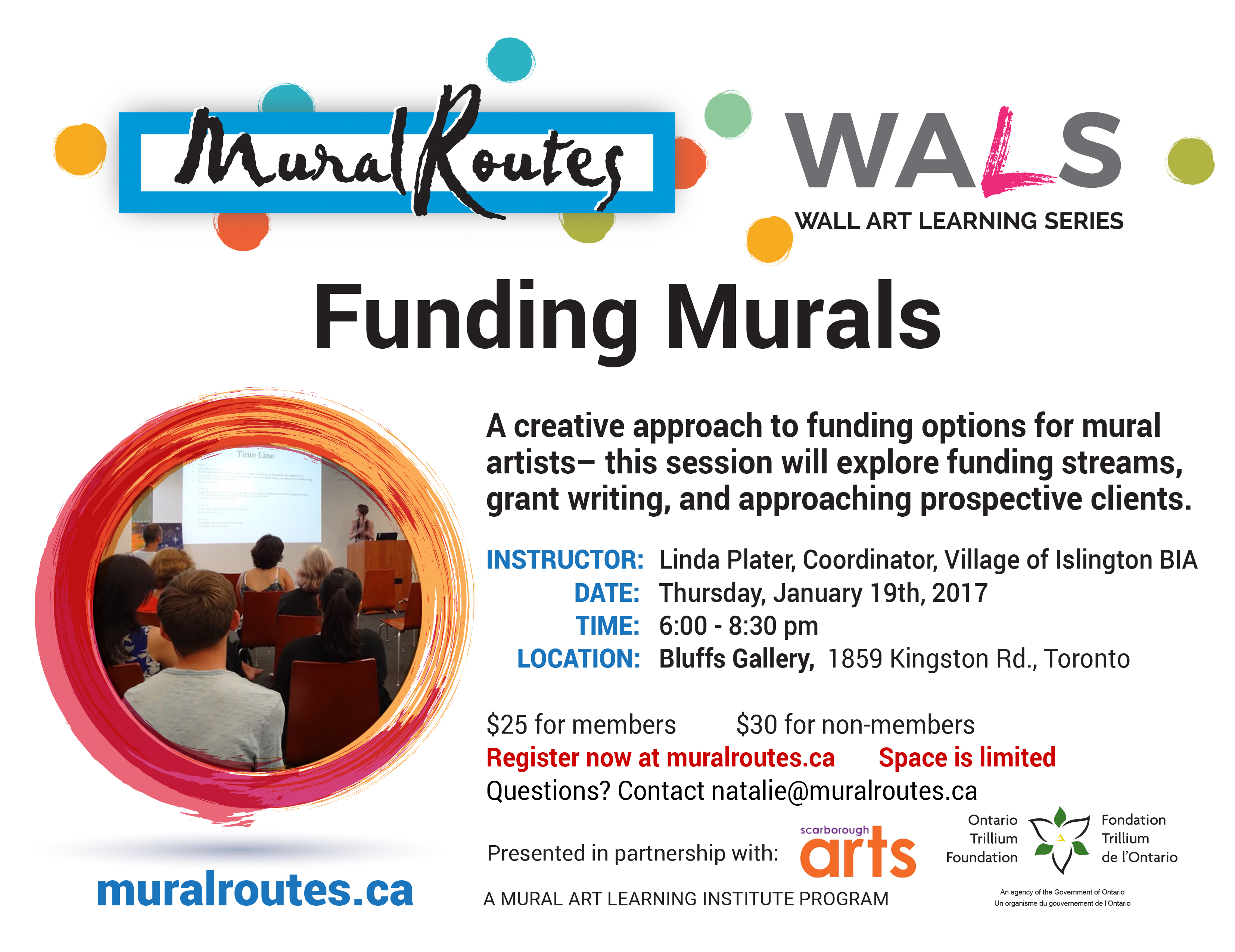 WALS: Funding Murals - Mural Routes