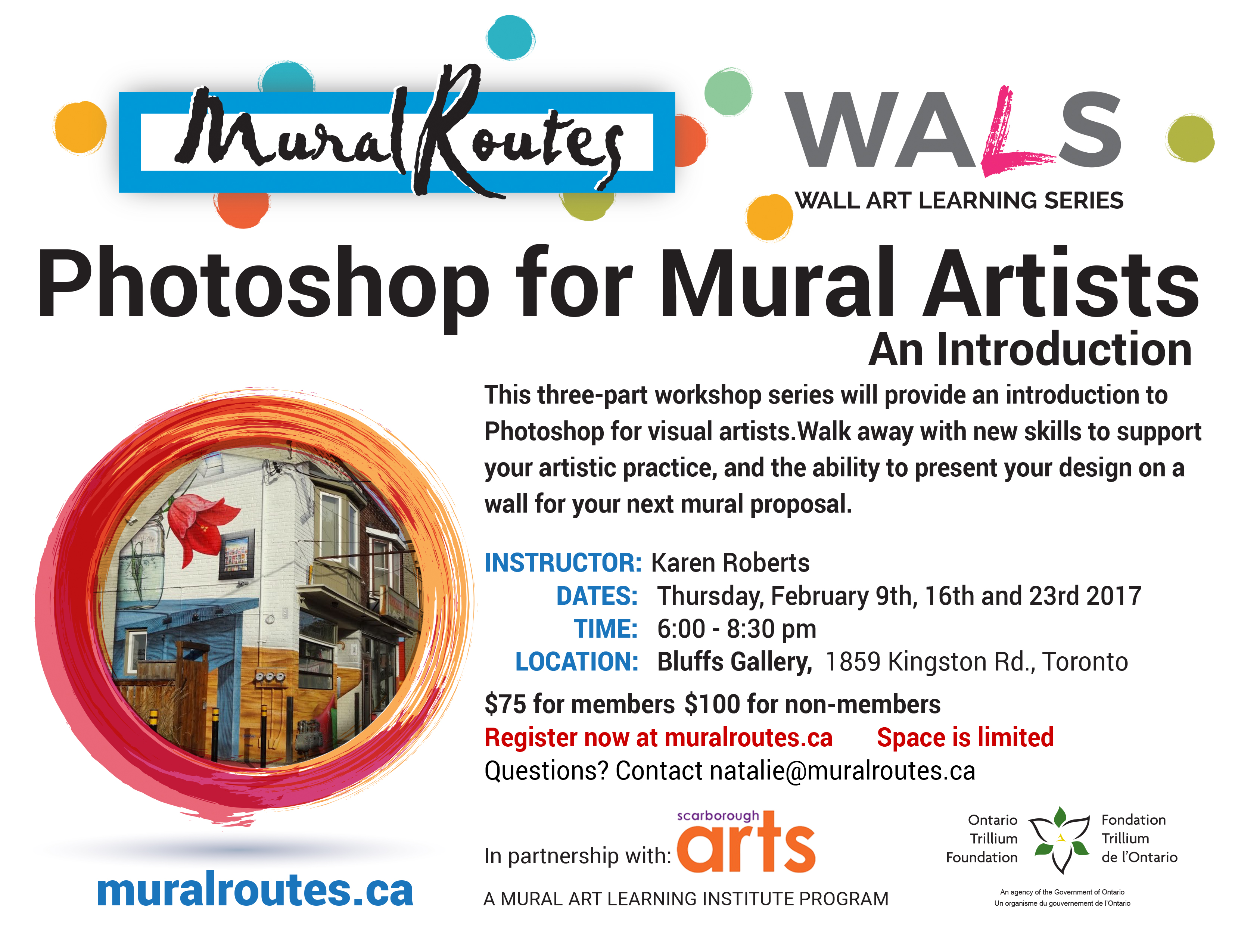 WALS: Photoshop for Mural Artists - Mural Routes