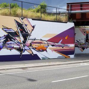 INTEROH GALE Mural 2019